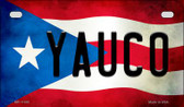 Yauco Puerto Rico State Flag License Plate Wholesale Motorcycle License Plate MP-11392