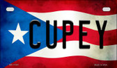 Cupey Puerto Rico State Flag License Plate Wholesale Motorcycle License Plate MP-11397
