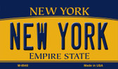 New York State License Plate Wholesale Magnet M-8940