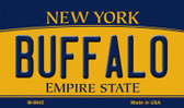 Buffalo New York State License Plate Wholesale Magnet M-8945