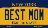 Best Mom New York State License Plate Wholesale Magnet M-8987