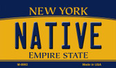 Native New York State License Plate Wholesale Magnet M-8993