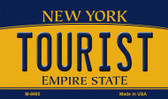 Tourist New York State License Plate Wholesale Magnet M-8995