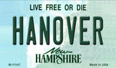 Hanover New Hampshire State License Plate Wholesale Magnet M-11147