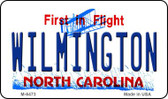 Wilmington North Carolina State License Plate Wholesale Magnet M-6473