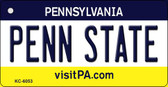 Penn State Pennsylvania State License Plate Wholesale Key Chain KC-6053