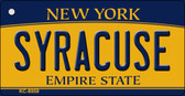 Syracuse New York State License Plate Wholesale Key Chain KC-8959