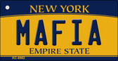 Mafia New York State License Plate Wholesale Key Chain KC-8962