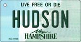 Hudson New Hampshire State License Plate Wholesale Key Chain KC-11146