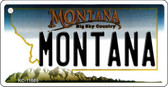 Montana State License Plate Novelty Wholesale Key Chain KC-11085