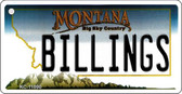 Billings Montana State License Plate Novelty Wholesale Key Chain KC-11090