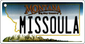Missoula Montana State License Plate Novelty Wholesale Key Chain KC-11091