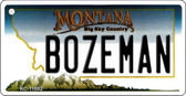 Bozeman Montana State License Plate Novelty Wholesale Key Chain KC-11092