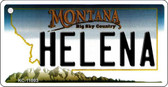 Helena Montana State License Plate Novelty Wholesale Key Chain KC-11093