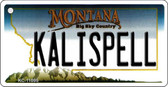 Kalispell Montana State License Plate Novelty Wholesale Key Chain KC-11095