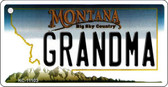 Grandma Montana State License Plate Novelty Wholesale Key Chain KC-11103