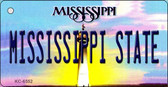 Mississippi State University License Plate Wholesale Key Chain KC-6552