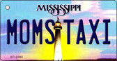 Moms Taxi Mississippi State License Plate Wholesale Key Chain KC-6580