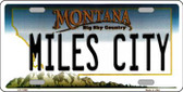 Miles City Montana State Novelty Wholesale License Plate LP-11099