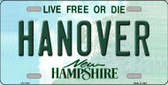Hanover New Hampshire State Wholesale License Plate LP-11147