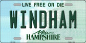 Windham New Hampshire State Wholesale License Plate LP-11148