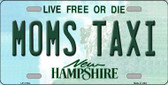 Moms Taxi New Hampshire State Wholesale License Plate LP-11164