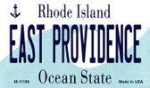 East Providence Rhode Island State License Plate Novelty Wholesale Magnet M-11189