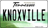 Knoxville Tennessee State License Plate Wholesale Magnet M-6416