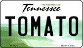 Tomato Tennessee State License Plate Wholesale Magnet M-6426
