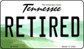 Retired Tennessee State License Plate Wholesale Magnet M-6432
