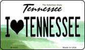 I Love Tennessee State License Plate Wholesale Magnet M-6441
