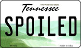 Spoiled Tennessee State License Plate Wholesale Magnet M-6452