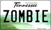 Zombie Tennessee State License Plate Wholesale Magnet M-6753