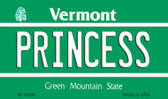 Princess Vermont State License Plate Novelty Wholesale Magnet M-10686