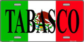 Tabasco Wholesale Metal Novelty License Plate LP-3435