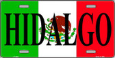Hidalgo Wholesale Metal Novelty License Plate LP-3442