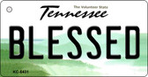Blessed Tennessee License Plate Wholesale Key Chain KC-6431