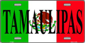 Tamaulipas Mexico Background Wholesale Metal Novelty License Plate LP-3444