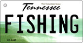 Fishing Tennessee License Plate Wholesale Key Chain KC-6447