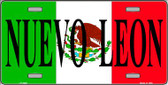 Nuevo Leon Mexico Wholesale Metal Novelty License Plate LP-3446