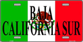 Baja California Sur Wholesale Metal Novelty License Plate LP-3450