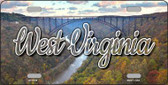 West Virginia River Bridge Wholesale State License Plate LP-11639
