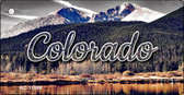 Colorado Forest and Mountains Wholesale Key Chain KC-11589