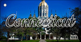 Connecticut Capital Building Wholesale Key Chain KC-11590