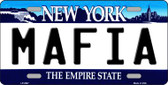 Mafia New York Novelty Wholesale Metal License Plate LP-3547