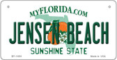 Jensen Beach Florida State Novelty Wholesale Bicycle License Plate BP-11691