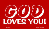God Loves You Novelty Wholesale Magnet M-238