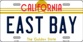 East Bay California Novelty Wholesale License Plate LP-11433