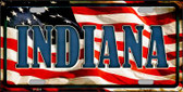 Indiana Wholesale Metal Novelty License Plate