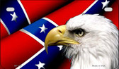 Confederate Flag Eagle Novelty Wholesale Motorcycle License Plate MP-155